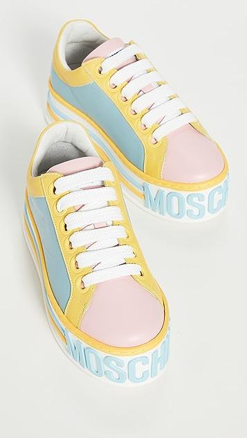 Moschino Moschino Platform W 厚底运动鞋