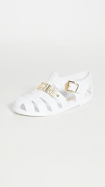 Moschino Buckle W Sandals