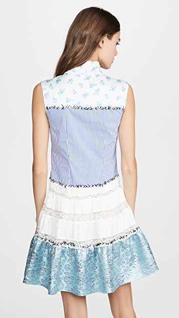 Moschino Mixed Mini Dress