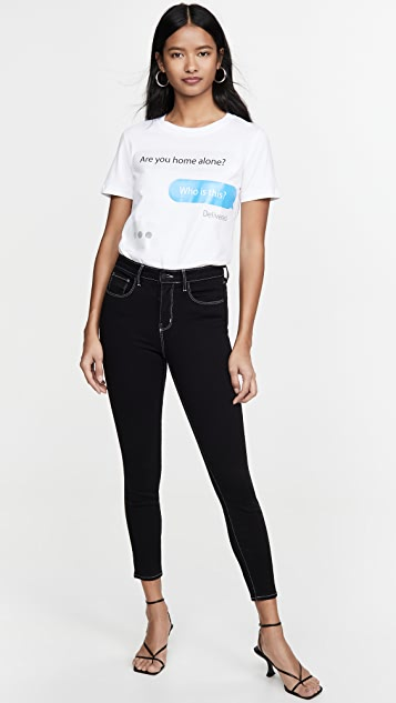 Moschino Text T-Shirt