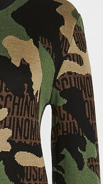Moschino 迷彩长袖