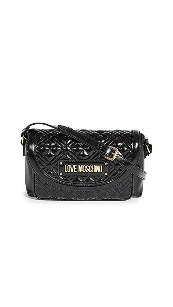 Moschino Love Moschino 绗缝斜挎包