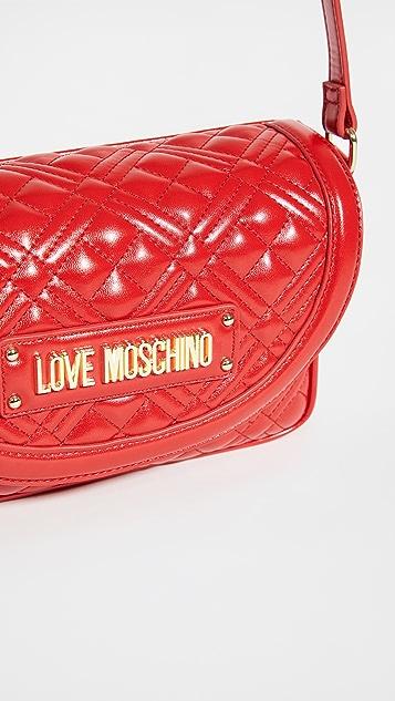 Moschino Love Moschino Quilted Crossbody