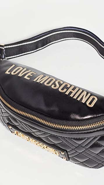 Moschino Love Moschino 绗缝腰包
