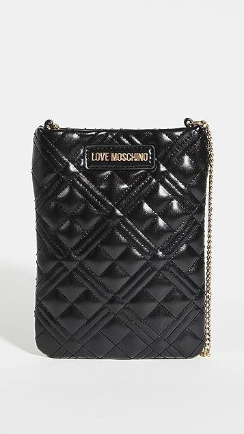Moschino Love Moschino 手机斜挎包