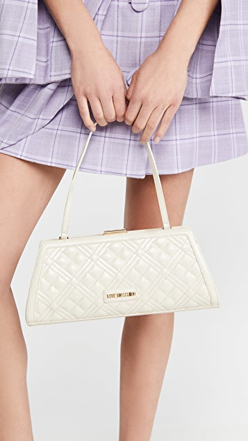 Moschino Love Moschino Quilted Clutch
