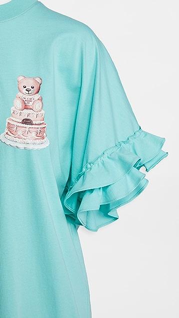 Moschino T 恤连衣裙