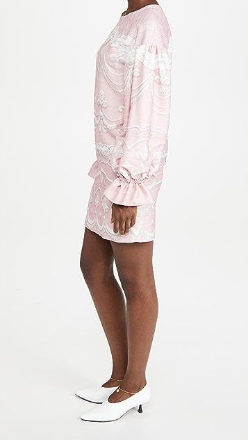 Moschino 长袖连衣裙