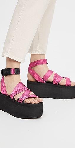 Moschino - 厚底凉鞋