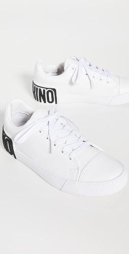 Moschino - Maxi 徽标运动鞋