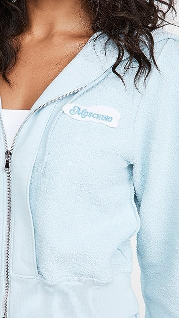 Moschino 短款运动衫