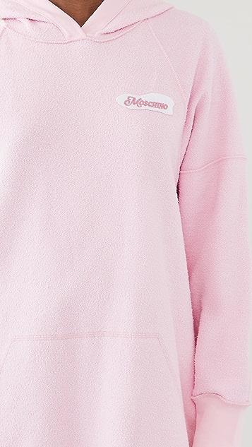 Moschino 运动衫式连衣裙