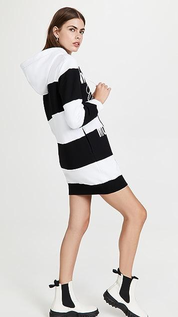 Moschino Hoodie Dress