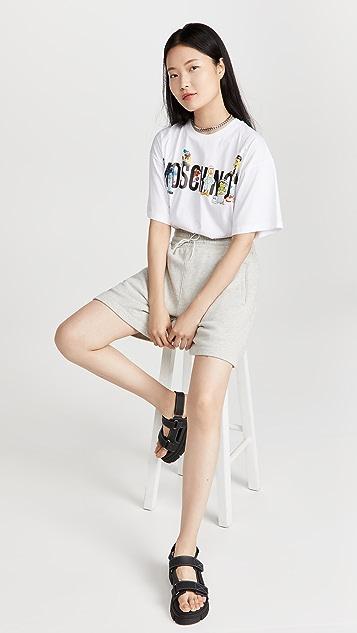 Moschino Sesame Street T 恤