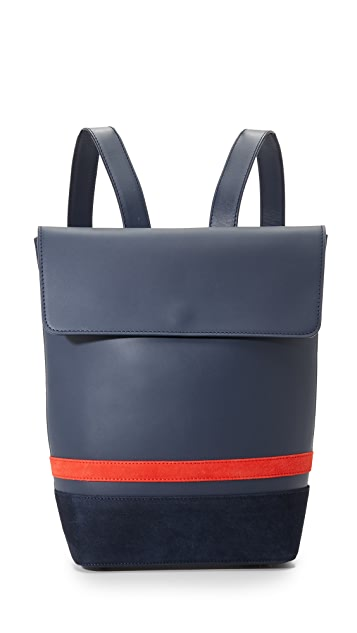 Mother of Pearl Small Bucket Backpack