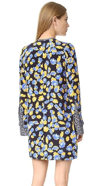 Mother of Pearl Opal Silk Dress