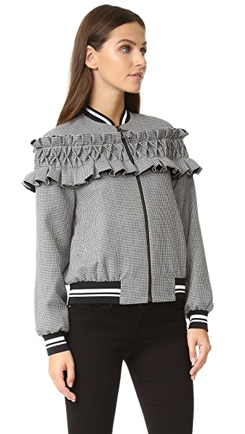 Mother of Pearl Ezra Bomber Jacket