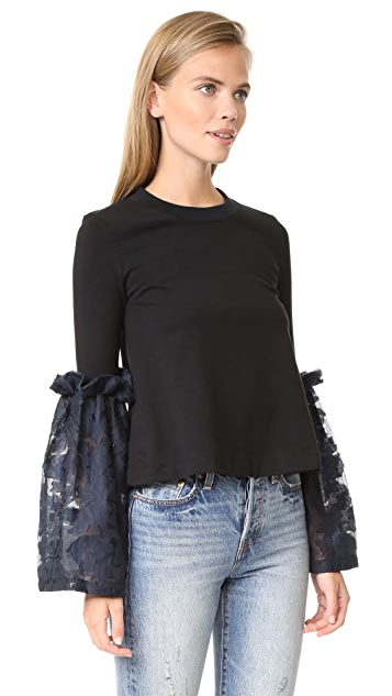 Mother of Pearl Addie Top