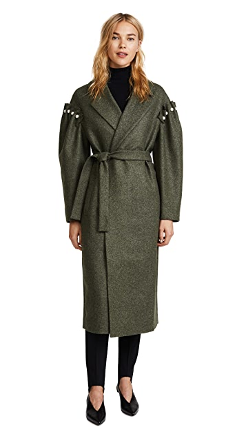 Mother of Pearl Webb Coat