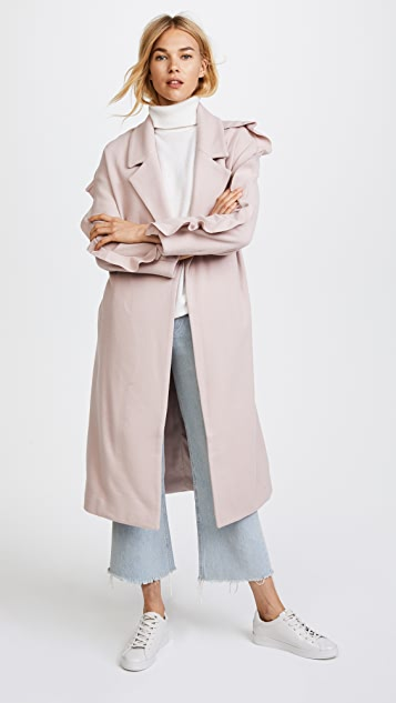 Mother of Pearl Bexley Coat