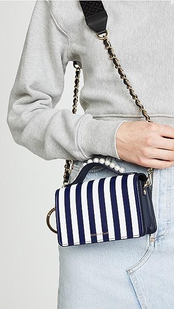 Mother of Pearl Jude Stud Shoulder Bag
