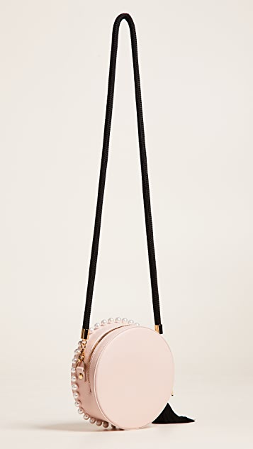 Mother of Pearl Rena Small Circle Bag