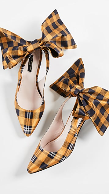 Bow Slingback Heels by Mother Of Pearl