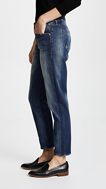 MOTHER The Dropout Boyfriend Jeans