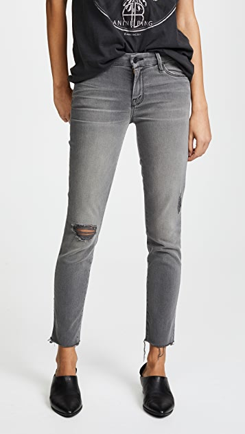 Looker Ankle Fray skinny jeans Mother 100% Guaranteed EqZjQsvGtk