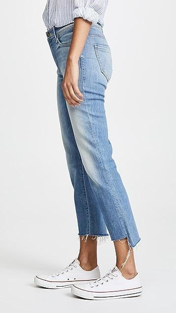 MOTHER Insider Crop Step Fray Jeans