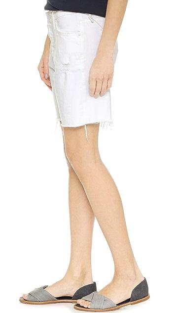 MOTHER The Vagabond Cuff Shorts