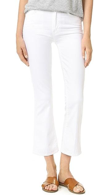 MOTHER Укороченные джинсы Insider