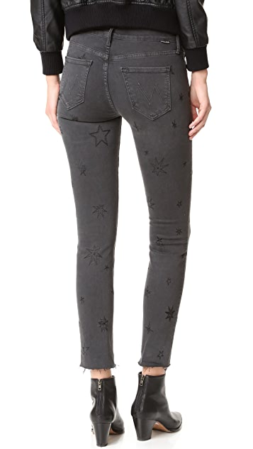 MOTHER Double Fray Charmer Jeans
