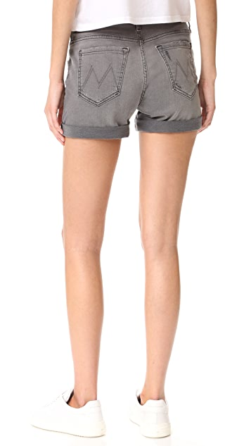 MOTHER Dropout Roll Shorts