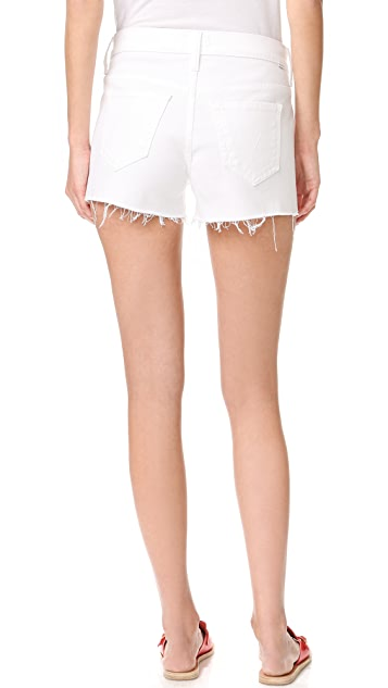 MOTHER Teaser Slit Shorts