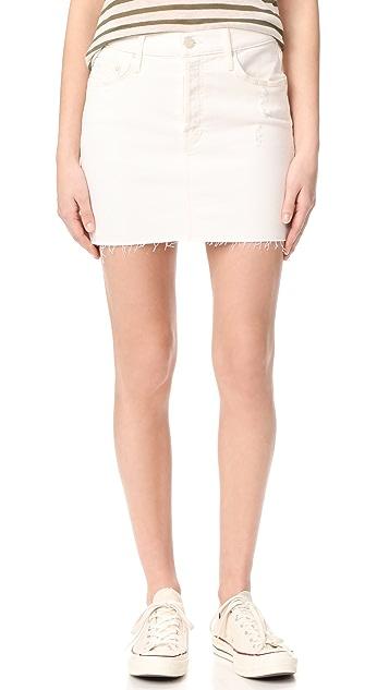 MOTHER The Vagabond Fray Miniskirt