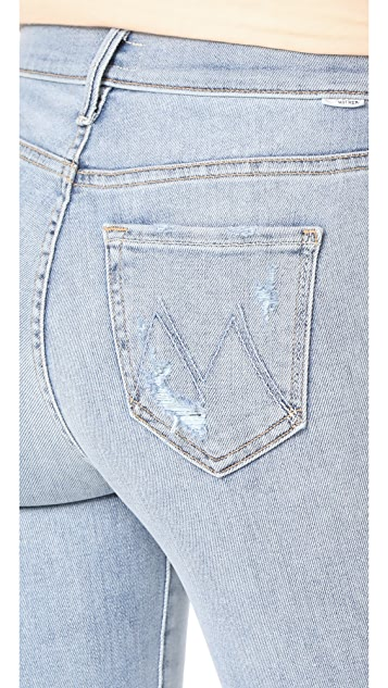 MOTHER The Insider Crop Step Fray Jeans