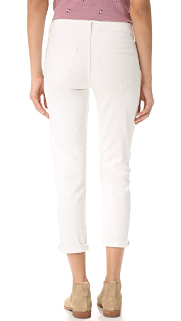 MOTHER The Dropout Slouchy Skinny Jeans