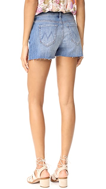 MOTHER Teaser Step Fray Shorts