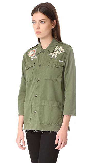 MOTHER Top Brass Fray Jacket
