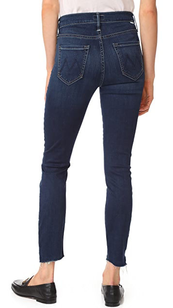 MOTHER Stunner Ankle Step Fray Jeans