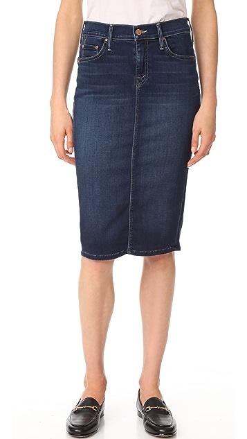 MOTHER The Peg Slit Skirt