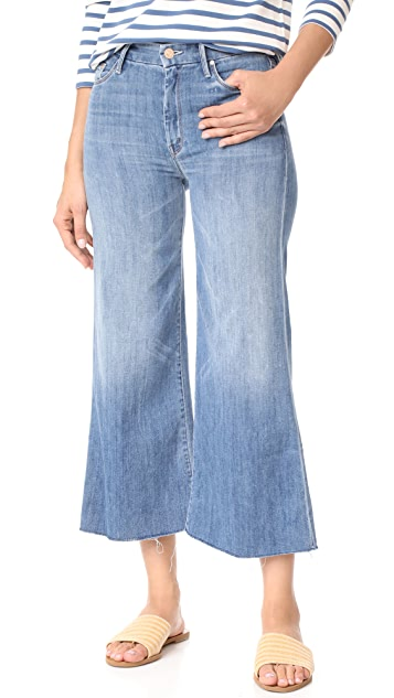 MOTHER The Roller Crop Snippet Jeans