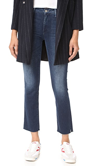 MOTHER The Rascal Ankle Snippet Fray Jeans