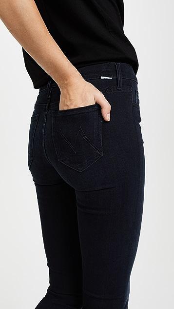 MOTHER Rascal Slit Undone Hem Jeans