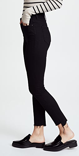 MOTHER - The Stunner Step Hem Ankle Jeans