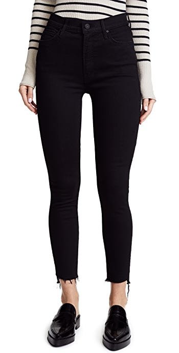 MOTHER The Stunner Step Hem Ankle Jeans - Not Guilty