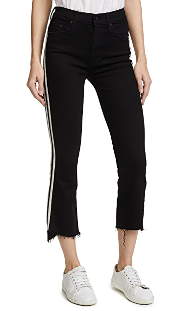 MOTHER Insider Crop Step Fray Jeans