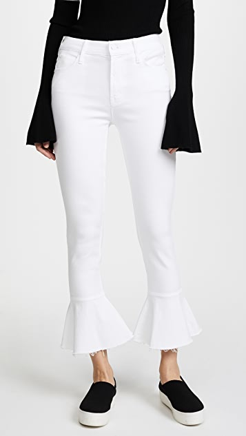 MOTHER Cha Cha Fray Jeans - Glass Slipper