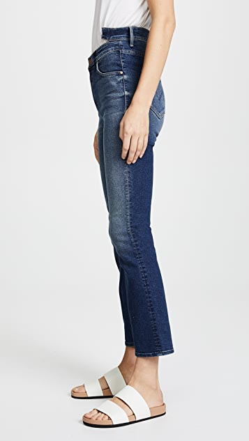 MOTHER The Shift Insider Ankle Jeans
